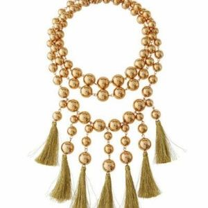 Lydell NYC Statement Tassel Necklace #27 DISPLAY
